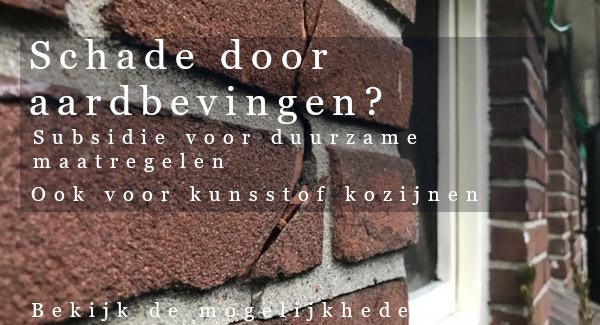Aardbevingsschade Groningen